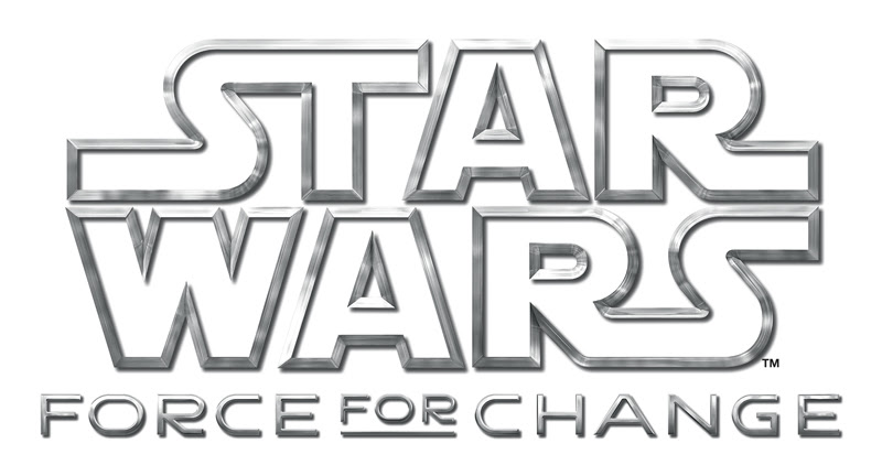`Star Wars: Force For Change` (Disney/LucasFilm logo)