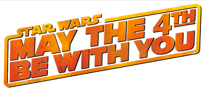 `May the 4th Be With You` (Disney logo)