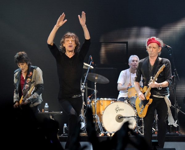 The Rolling Stones are headed to Western New York. (Photo by Brian Rasic)