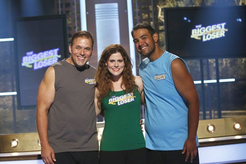 Pictured, from left, are David Brown, Rachel Frederickson and Bobby Saleem. (NBC photo by Justin Lubin)
