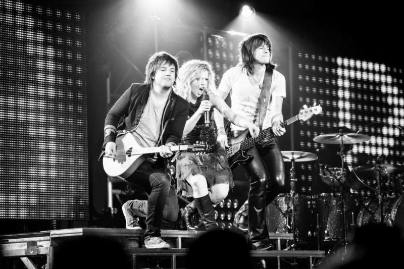 The Band Perry on tour. (Submitted photo)