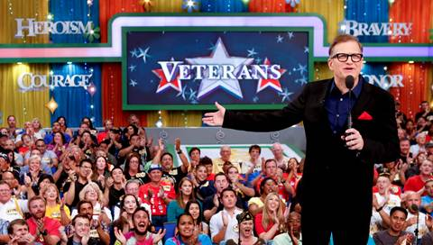 Drew Carey hosts `The Price Is Right` on CBS. (CBS photo)