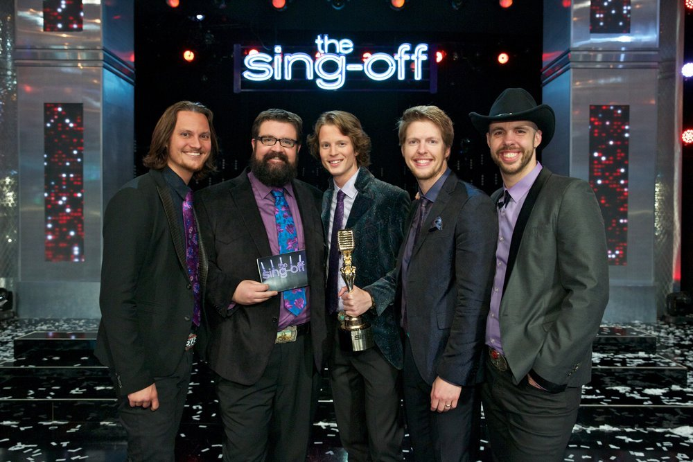 Home Free won `The Sing-Off.` (NBC photo by Tyler Golden)