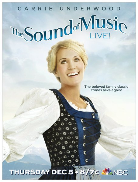 Carrie Underwood stars in `The Sound of Music.` (NBC photo)