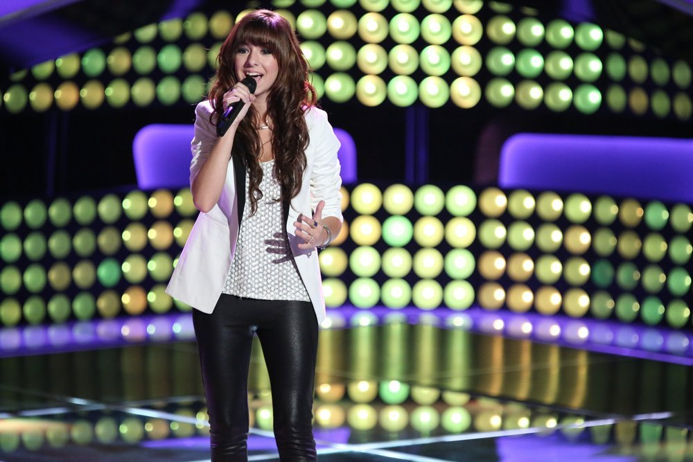 Christina Grimmie (NBC photo by Tyler Golden)