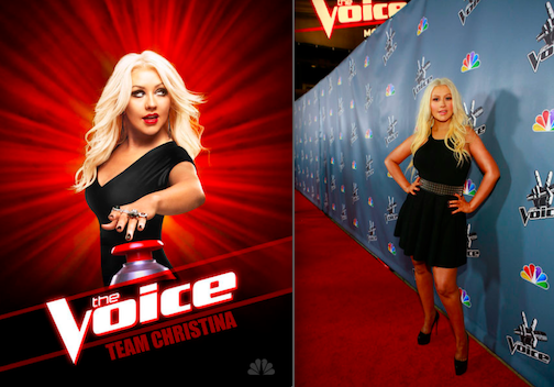Christina Aguilera (NBC photo/photo by Trae Patton)