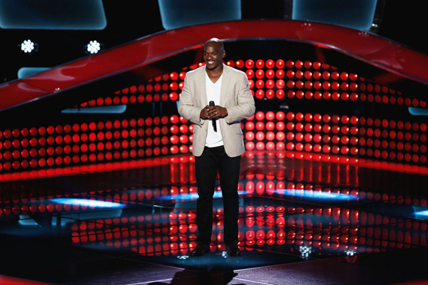`The Voice`: Jeremy Gaynor performs during the blind auditions. (NBC photo by Tyler Golden)