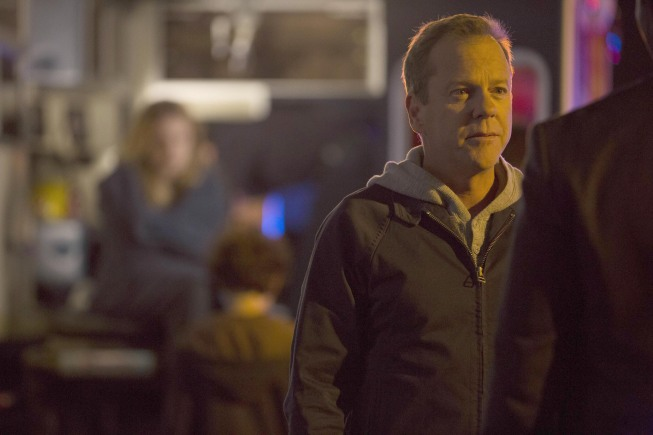 Kiefer Sutherland in `Touch.` (FOX photo by Isabella Vosmikova)