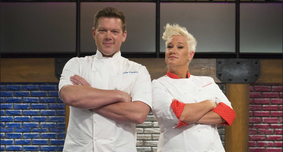 Chef Anne Burrell will compete against chef Tyler Florence on `Worst Cooks in America.` (contributed photo)