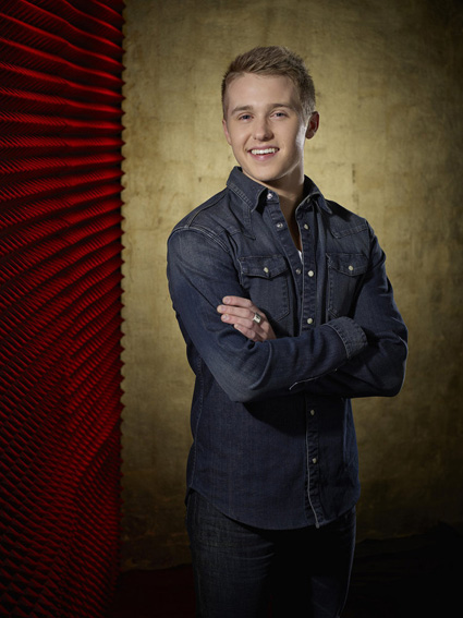 """The Voice"": Corey Kent White (NBC photo by Paul Drinkwater)"