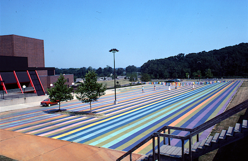 Color image from the Artpark Archival Collection at the Burchfield Penney Art Center.