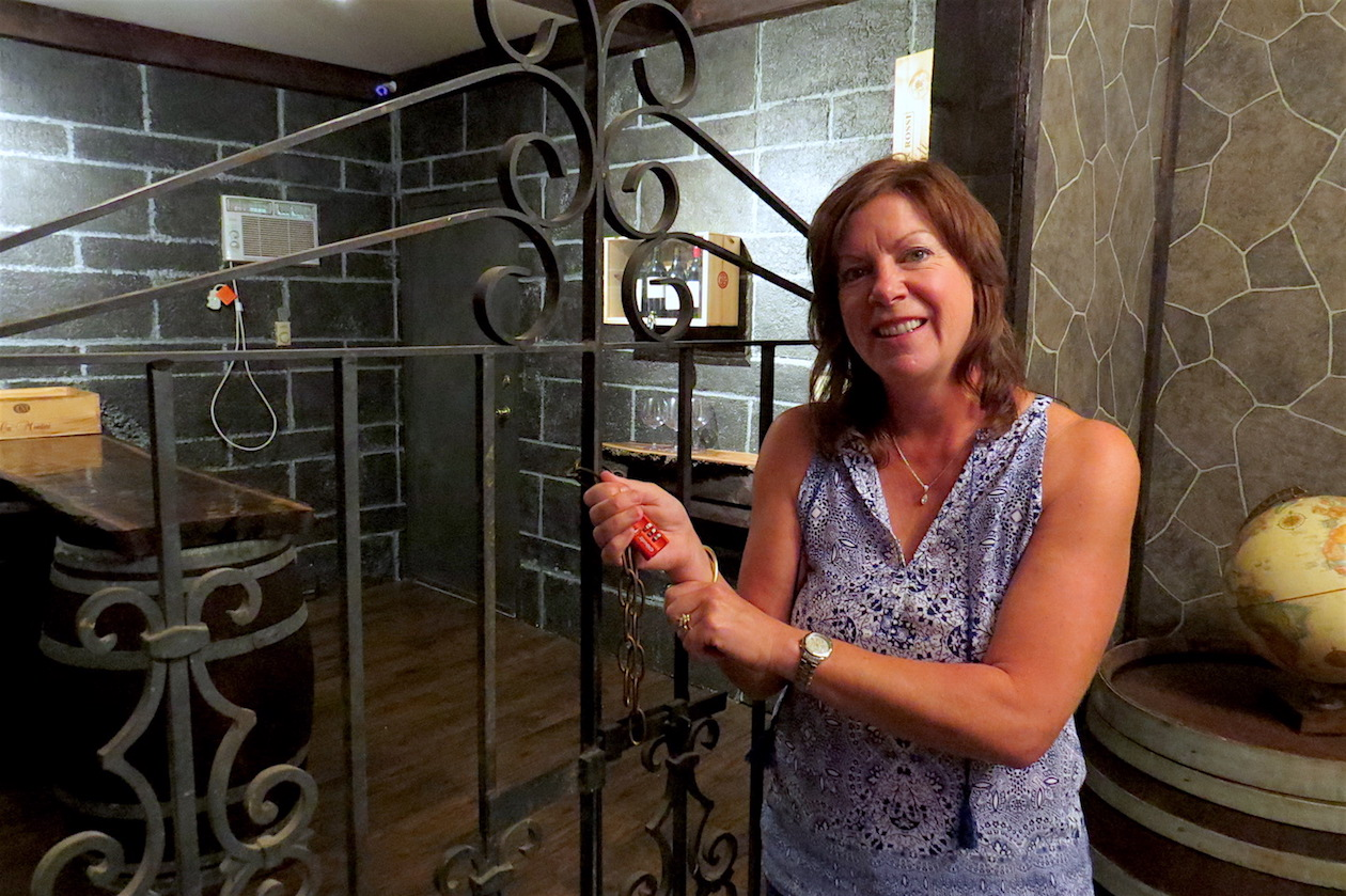 What treasure lies within the `Wine Cellar` at Adventure Room Niagara? Only owner Patti Lank (and future guests) will know for sure. Book your tour today to find out.