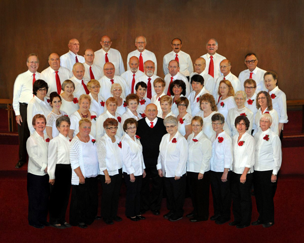 The Lewiston Choraleers (Submitted photo)