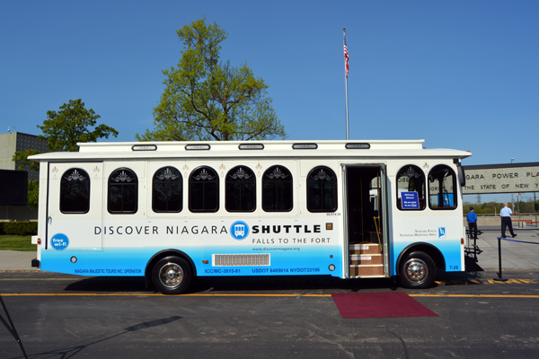 The Village of Youngstown also discussed the Discover Niagara Shuttle this week. (File photo by Lauren Zaepfel)