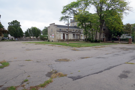 Hastings Lewiston Inc. seeks to subdivide the Frontier House lot at 460 Center St.