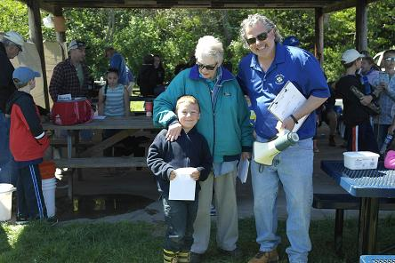 The 2015 Lewiston Kiwanis fishing derby.