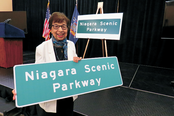 Mamie Simonson was instrumental in the renaming of the parkway.