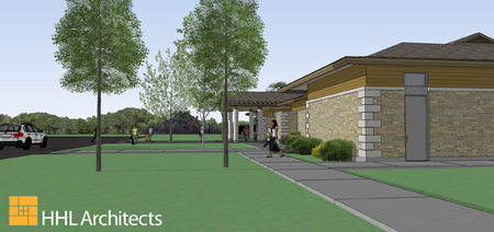 Pictured above are artist renderings of project created by HHL Architects and provided by the New York State Office of Parks, Recreation and Historic Preservation.