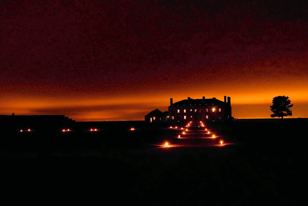 Old Fort Niagara by candlelight. (Submitted photo)