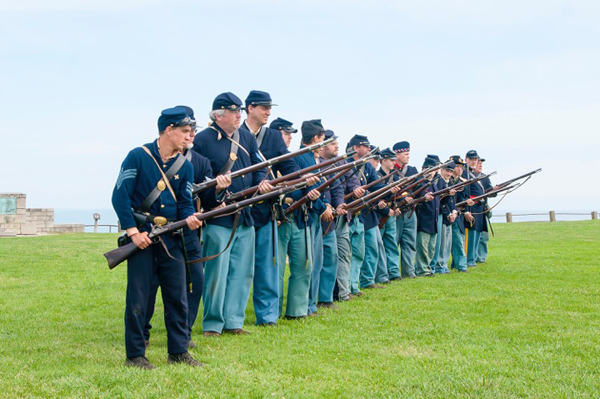 Civil War garrison (Photo provided by Old Fort Niagara)