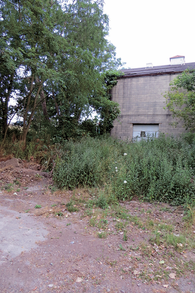 Pictured is part of the land Ellicott Development intends to turn into a 4.1-acre mixed-use plaza.