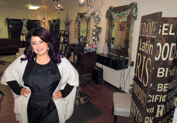 Rellim Hair & Makeup Design Studio owner Lauren Rose Miller invites readers to a five-year anniversary party and spray-tanning booth ribbon-cutting on Friday, Jan. 6.