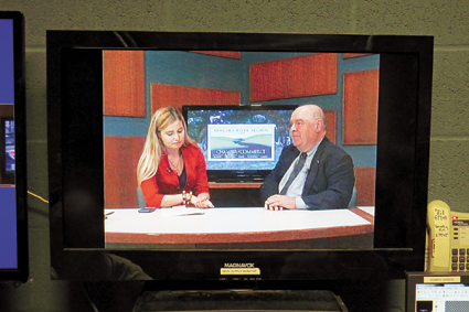 Christina Crane chats with Old Fort Niagara Executive Director Bob Emerson on `Roam the Region.`