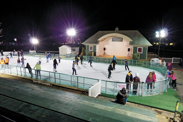 The Lewiston Family Ice Rink is among the items facing cuts in the Town of Lewiston's 2017 budget. (File photo)
