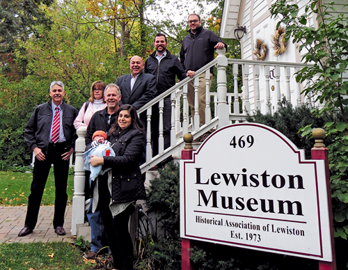 Organizers and sponsors of the Historical Association of Lewiston's Tour of Homes.