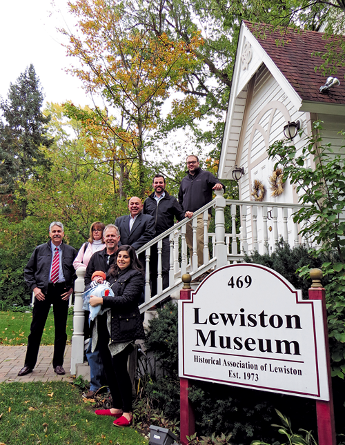 Organizers and sponsors of the Historical Association of Lewiston's Tour of Homes