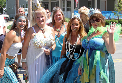 Fun for visitors of all ages. A children's costume contest, a dunk tank, a pie-throwing contest, a mermaid promenade and more will be part of the second annual PYRBA.org Mermaid Festival on Saturday, Aug. 20.