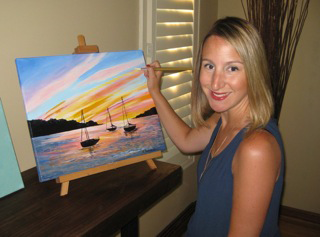 Artist Kristen Raimondi will provide lessons this year.