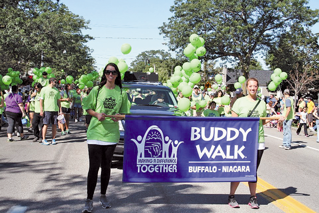 Buddy Walk with the Family & Friends Down Syndrome Association of Niagara