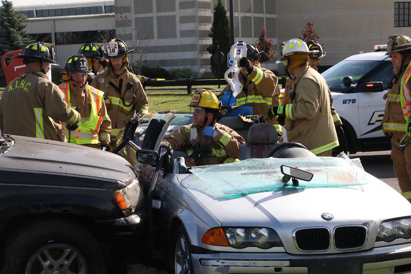 Car Crash Simulation Illustrates Consequences Of Driving