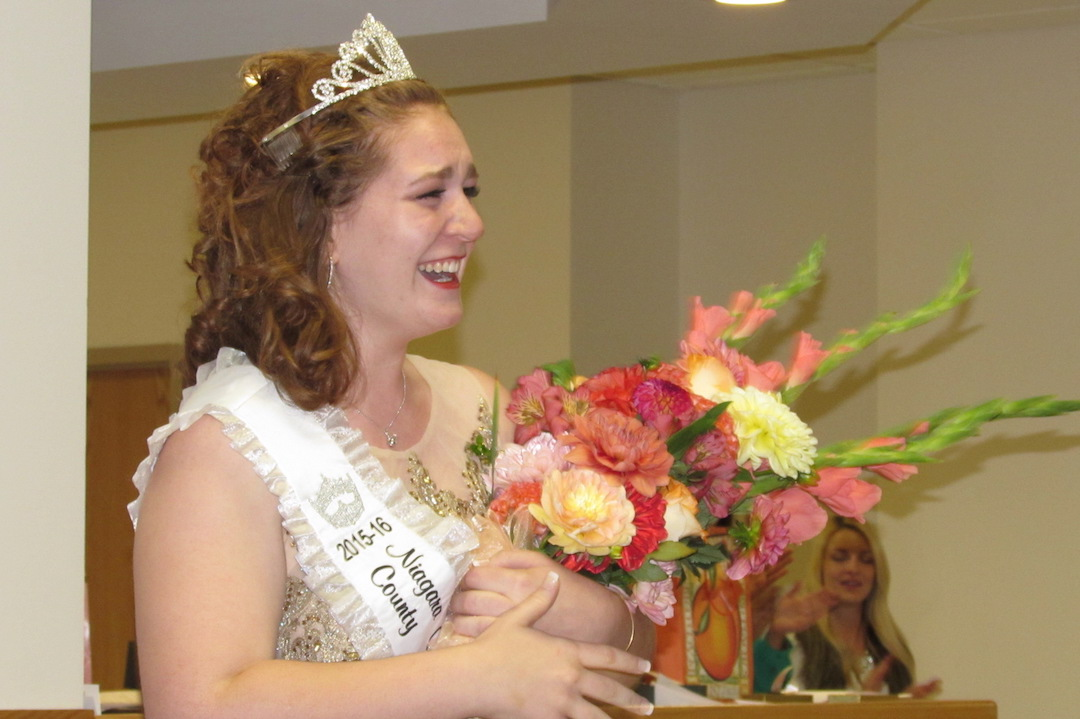 Lindsey Clark was crowned Peach Queen Sunday night in Lewiston.