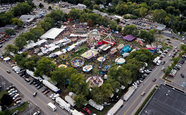 The Niagara County Peach Festival (File photos by K&d Action Photo & Aerial Imaging, Wayne Peters, Robin Clark and Terry Duffy)