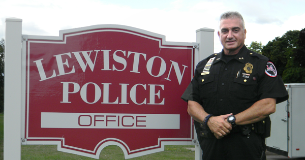 Lewiston Police Chief Frank Previte
