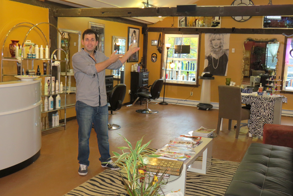 Semir Huzmeli has worked hard to transform Salon Semir into what it is today.