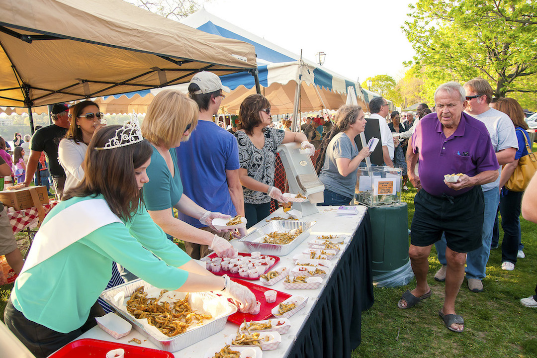 Pictured is the 2013 Lewiston Smelt Festival. (File photos by Wayne Peters)