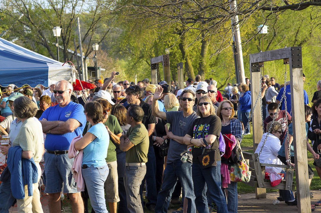 Pictured is the 2013 Lewiston Smelt Festival.