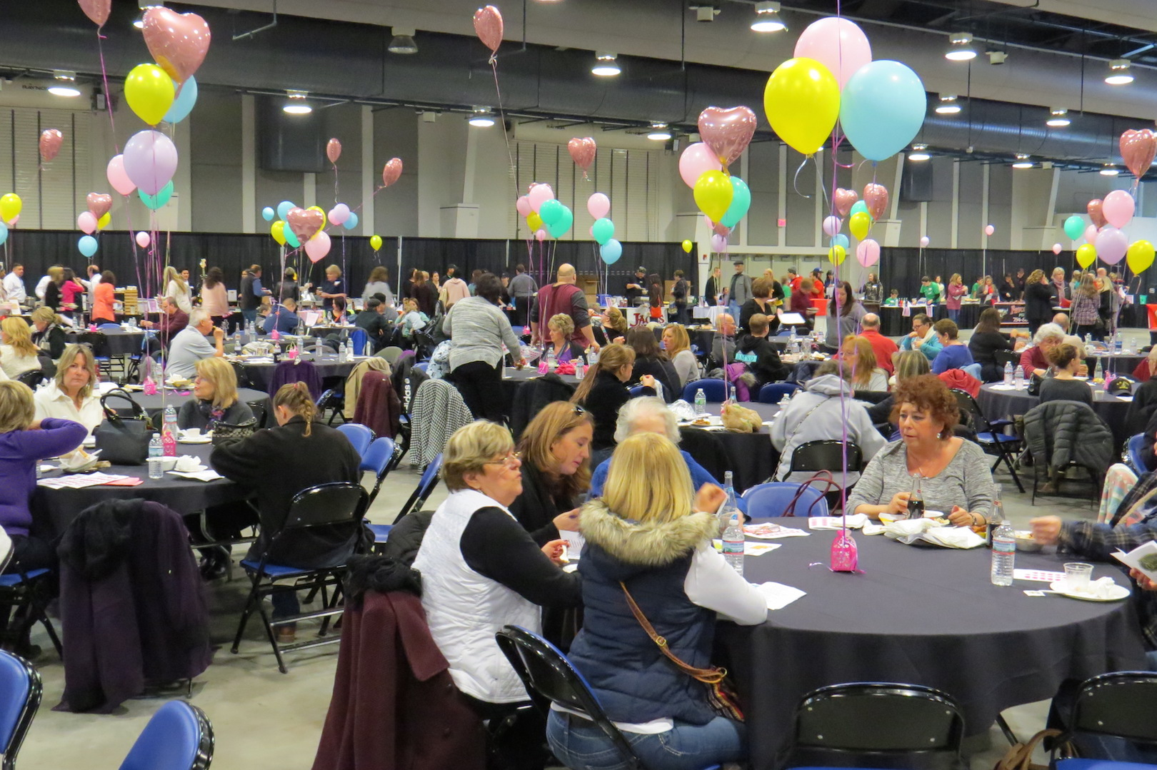 Crowds filled The Conference & Event Center Niagara Falls for Heart of Niagara's `A Taste of The Niagara Region` fundraiser.