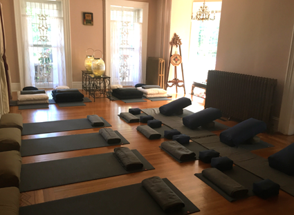 A look inside Udumbara Yoga.