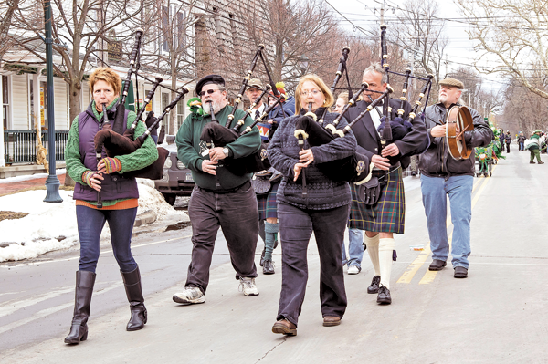 Pictured are scenes from last year's St. Patrick's Day events in Youngstown. (File photos)