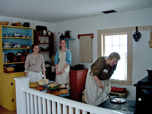 Buffalo Niagara Heritage Village volunteers hard at work. (submitted photo)