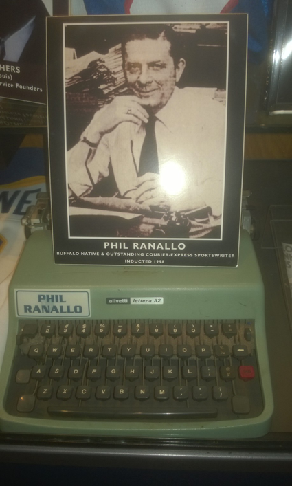 Phil Ranallo's typewriter (Submitted photo)