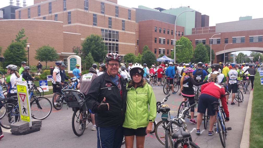 At the Ride for Roswell
