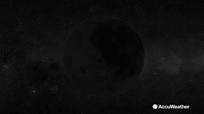 There's a black moon on the rise. (AccuWeather photo)