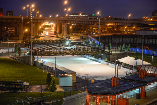 The Ice at Canalside presented by BlueCross BlueShield of Western New York