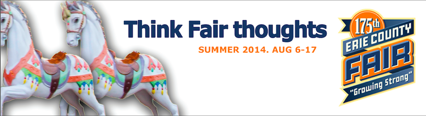 `Think Fair Thoughts` about the Erie County Fair.