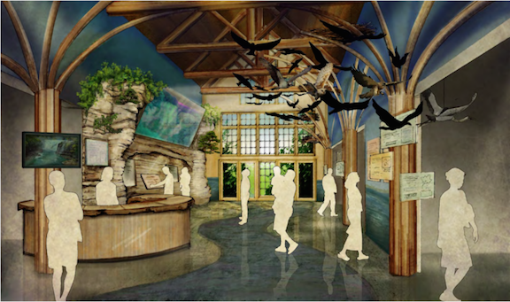 Margaret L. Wendt Foundation Display Hall. (Rendering by: AJA Architecture)
